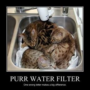 PURR WATER FILTER