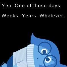 Yep. One of those days. Weeks. Years. Whatever.