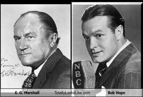 E. G. Marshall Totally Looks Like Bob Hope