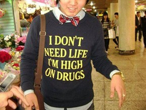 Live Drugs To The Fullest