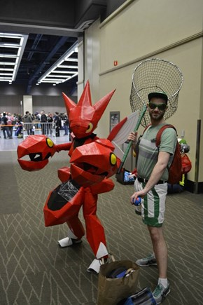 Scizor and Bug Catcher Cosplay