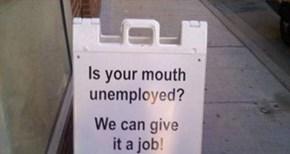 It's A Big Job