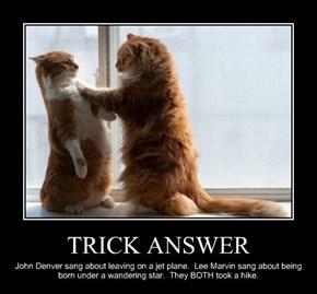 TRICK ANSWER