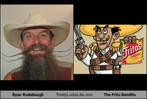 Ryan Rodabaugh Totally Looks Like The Frito Bandito