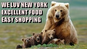 WE LUV NEW YORK                     EXCELLENT FOOD                                                EASY SHOPPING