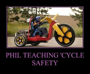 PHIL TEACHING 'CYCLE SAFETY