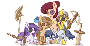 Patchpone and Her Friends