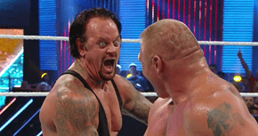 Don't Mess With the Undertaker or His Freaky Face
