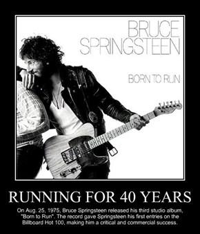 RUNNING FOR 40 YEARS