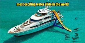 most exciting water slide in the world