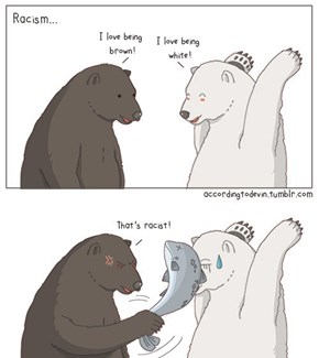 No One Can Bear Racism