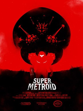 If Super Metroid Were Ever Made Into a Movie, This is the Poster It Would Need