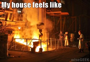 My house feels like