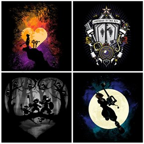 Kingdom Hearts Art at Once Upon a Tee