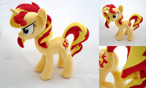 Sunset Shimmer Plushie Needs Cuddles