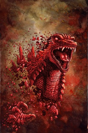Godzilla in Ruins