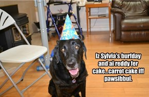 Happy birthday, Syl