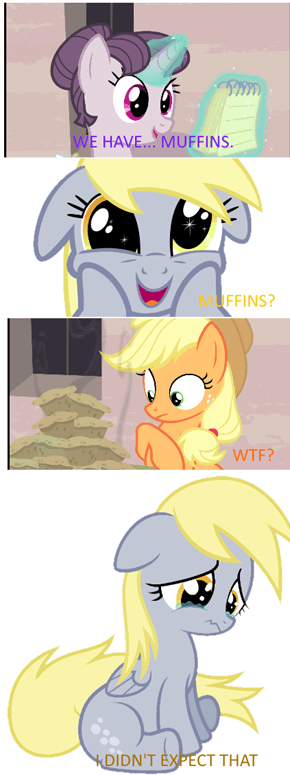 Derpy Could Never Live There