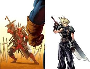 Deadpool Borrowed a Sword From a Friend