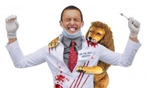 Revenge Costume of the Day: PETA Bites Back at Tasteless Outfit with a Bloody Getup of Their Own