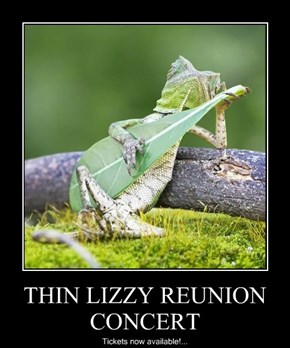 THIN LIZZY REUNION CONCERT