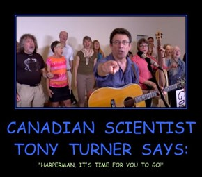 CANADIAN  SCIENTIST  TONY  TURNER  SAYS: