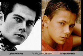 Dylan O'Brien Totally Looks Like River Phoenix