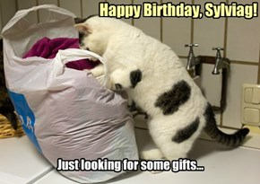 Happy Birthday, Sylviag!