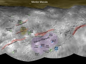 NASA Scientists Named The Geological Features of Charon After Nerd Things