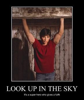 LOOK UP IN THE SKY