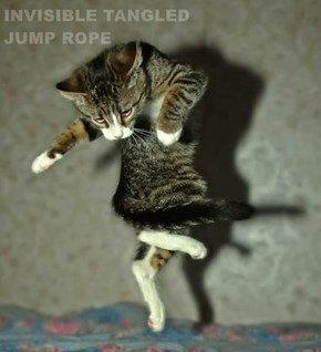 INVISIBLE TANGLED                        JUMP ROPE