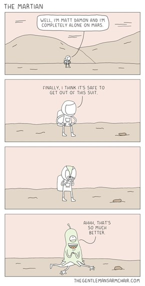 Spoiler From The Martian