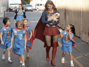 This Picture Proves Supergirl Is Already More Faithful Than 'Man of Steel'