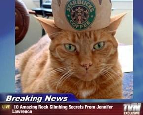Breaking News -  10 Amazing Rock Climbing Secrets From Jennifer Lawrence