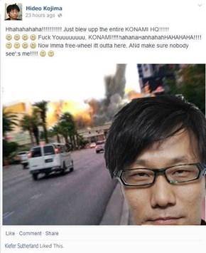 Kojima Gets His Revenge