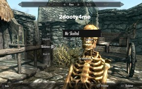 Join Mr. Skeltal on His Wild Skyrim Adventure