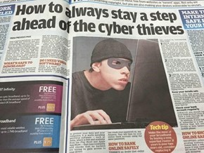 """This is What a """"Cyber Thief"""" Looks Like Apparently"""
