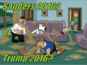 Sanders 2016?    or  Trump 2016?
