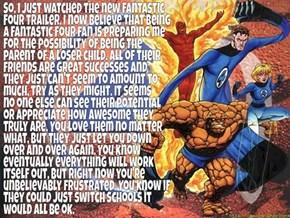 What It's Like Being a Fantastic Four Fan