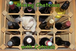 Mixing Chateaus   with Cateaus