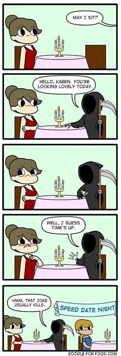 On a Date With Death