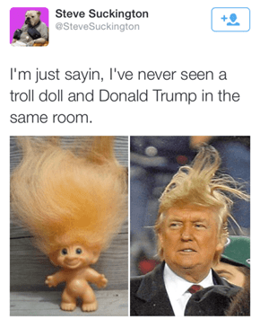 He's Certainly a Troll