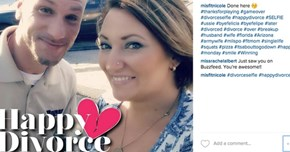 No Bad Blood of the Day: Couples Are Taking Divorce Selfies to Mark Occasion