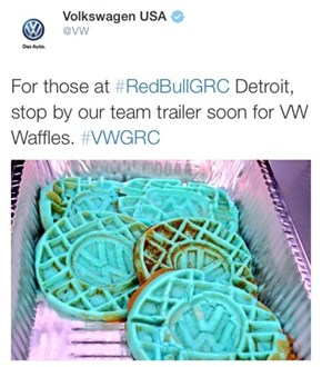 Did Someone Say Blue Waffle?