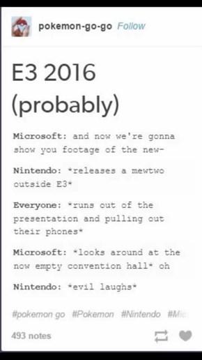 Nintendo be Trolling