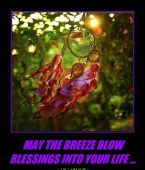 MAY THE BREEZE BLOW BLESSINGS INTO YOUR LIFE ...