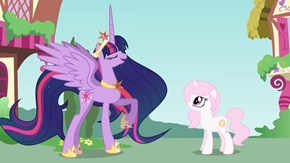 Twilight Tells Her Prized Pupil to Stay in Ponyville and Learn About Friendship