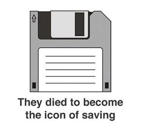 Floppy Disks Are Kind of Like Jesus