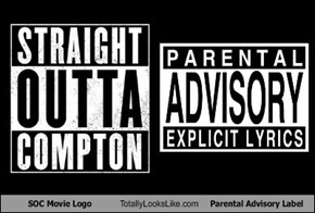SOC Movie Logo Totally Looks Like Parental Advisory Label