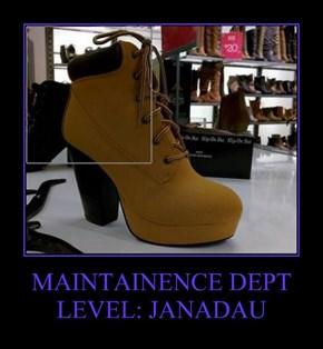 MAINTAINENCE DEPT LEVEL: JANADAU